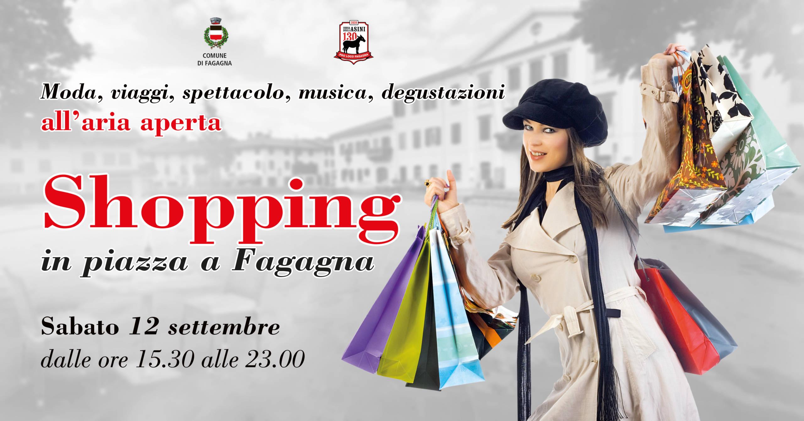 Shopping a Fagagna 12 settembre 2020